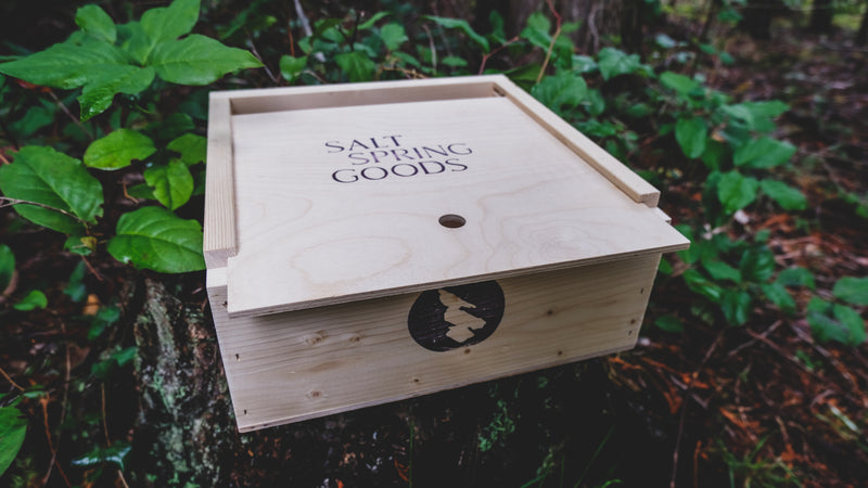 SALT SPRING SAMPLER BOX