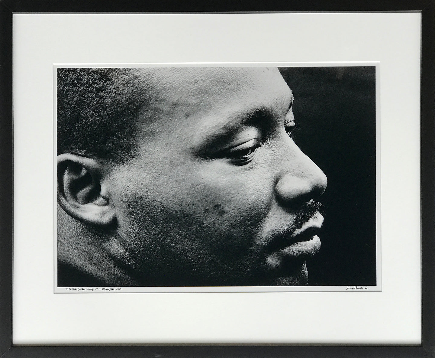 Martin Luther King, Jr. after delivering his