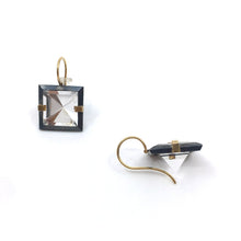Load image into Gallery viewer, Quartz Facets Earrings
