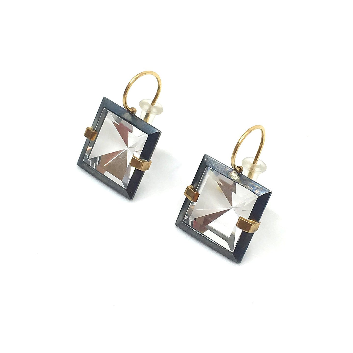 Quartz Facets Earrings