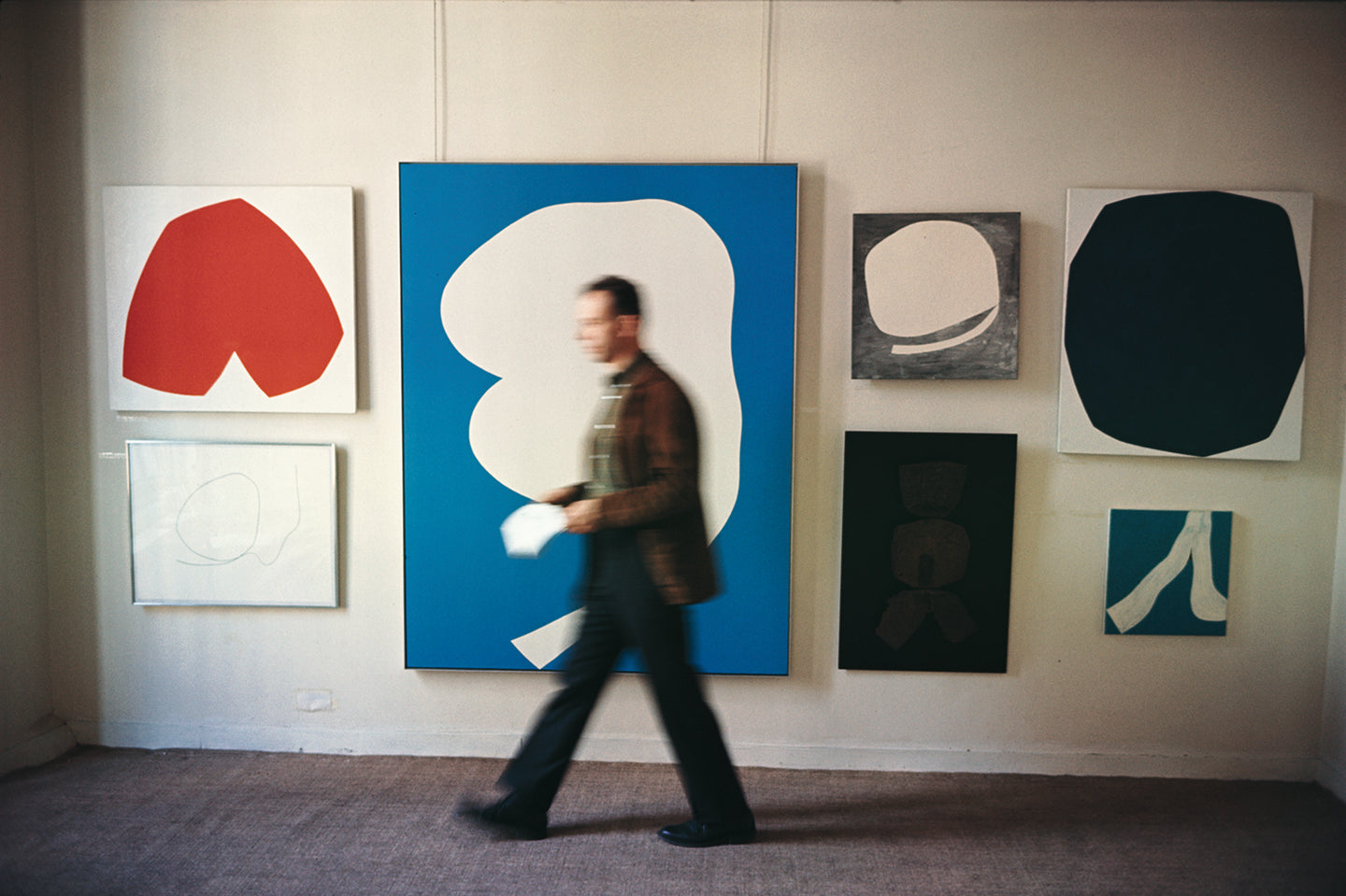 Ellsworth Kelly (1923 - ), Betty Parson's Gallery, 57th Street, New York, 1964