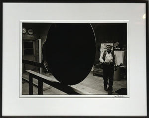 David Smith (1906-1965)  with Primo Piano III at Terminal Iron Works, Bolton Landing, NY, 1962 Default Title