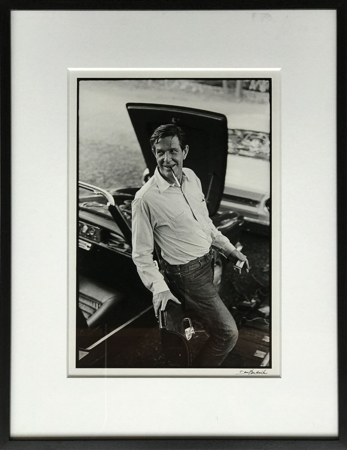 John Cage (1912 -1992) at Philip Johnson - Jean de Menil Party, New Canaan, CT 1967 Default Title