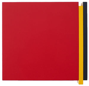Double Edge- Red, Yellow, Blue, 2008