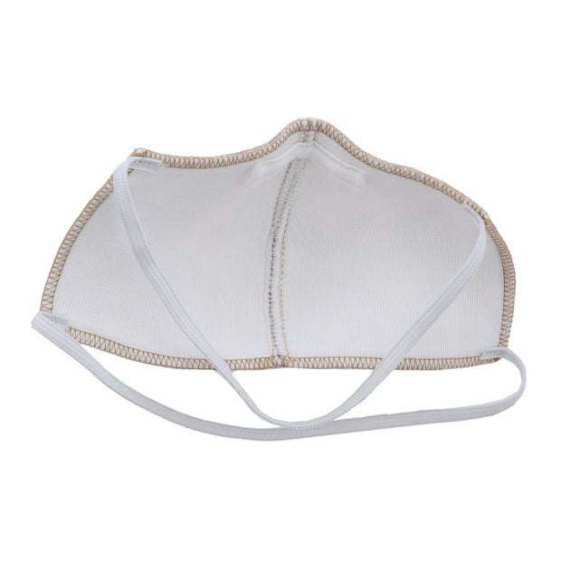 TAN 3 POLY-COTTON WASHABLE FACE MASK