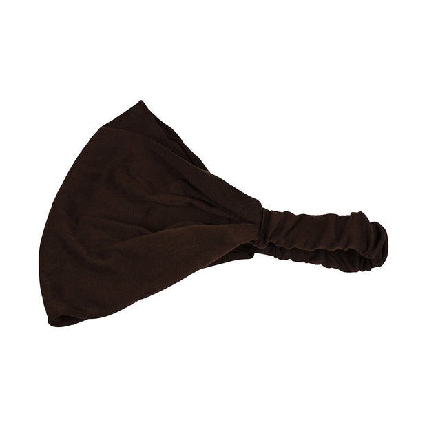 Solid Stretchy 9 inch Partial Head Cover  Headwrap