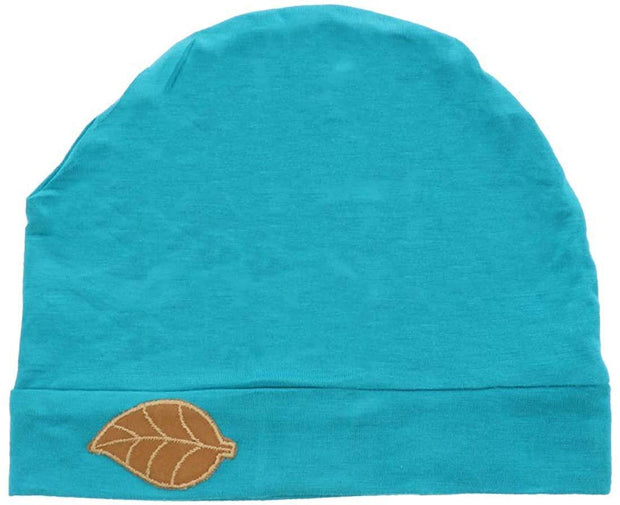 Sleep Cap / Wig Liner with Leaf Applique