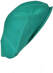 Landana Headscarves Beret for Women 100% Cotton Solid - Small/Medium