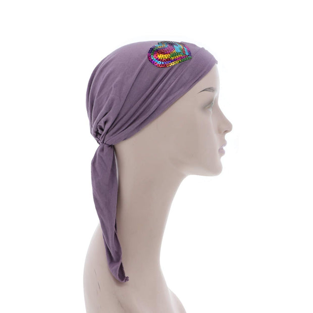 Hearts Childs Pretied Headscarf