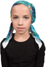 Chemo Cap Pretied for Girls Soft Cotton Cancer Scarf - Made in the USA