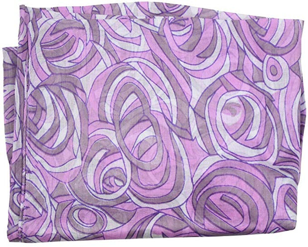 Circle Swirls Headscarf Cancer Scarf Tiechel