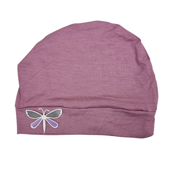 Landana Headscarves Soft Chemo Cap with Dragonfly Applique