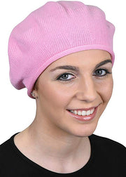 Solid Small Cotton Beret