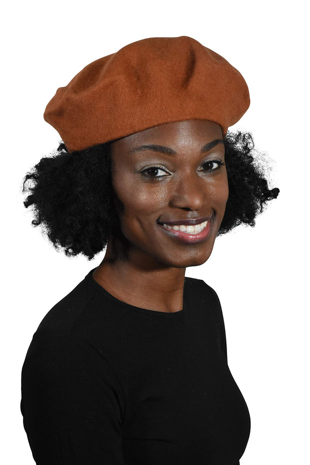 Wool Winter Beret