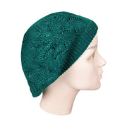 Acrylic Beret / Snood with Lurex