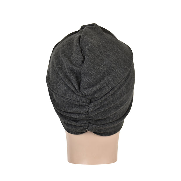 Classic Turban with Twisted Knot Front