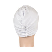 Landana Headscarves Classic Flat Turban with Twist/Knot Front