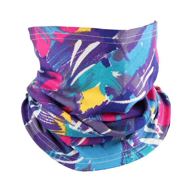 Cotton Stretch Neck Gaiters Multi Use Scarf (Multicolor)