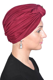 Turban with Gold Stud