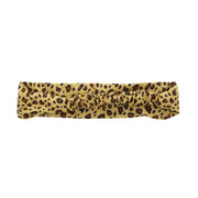 Gold Leopard Spotted Headwrap