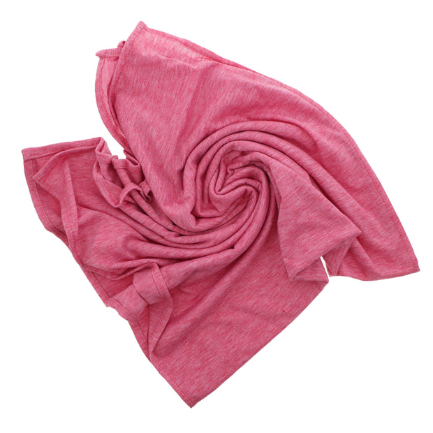 Pink Cotton Headscarf