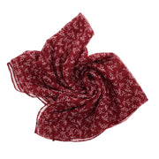 Pretty Chemo Headscarf with Small Flowers