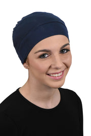 Landana Headscarves Womens Soft Sleep Cap Comfy Cancer Wig Liner & Hair Loss Cap