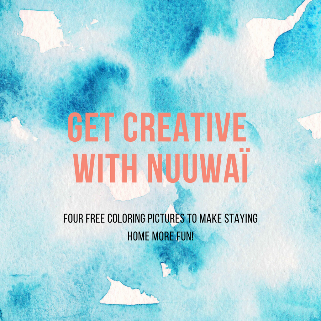 Get creative with nuuwaï!