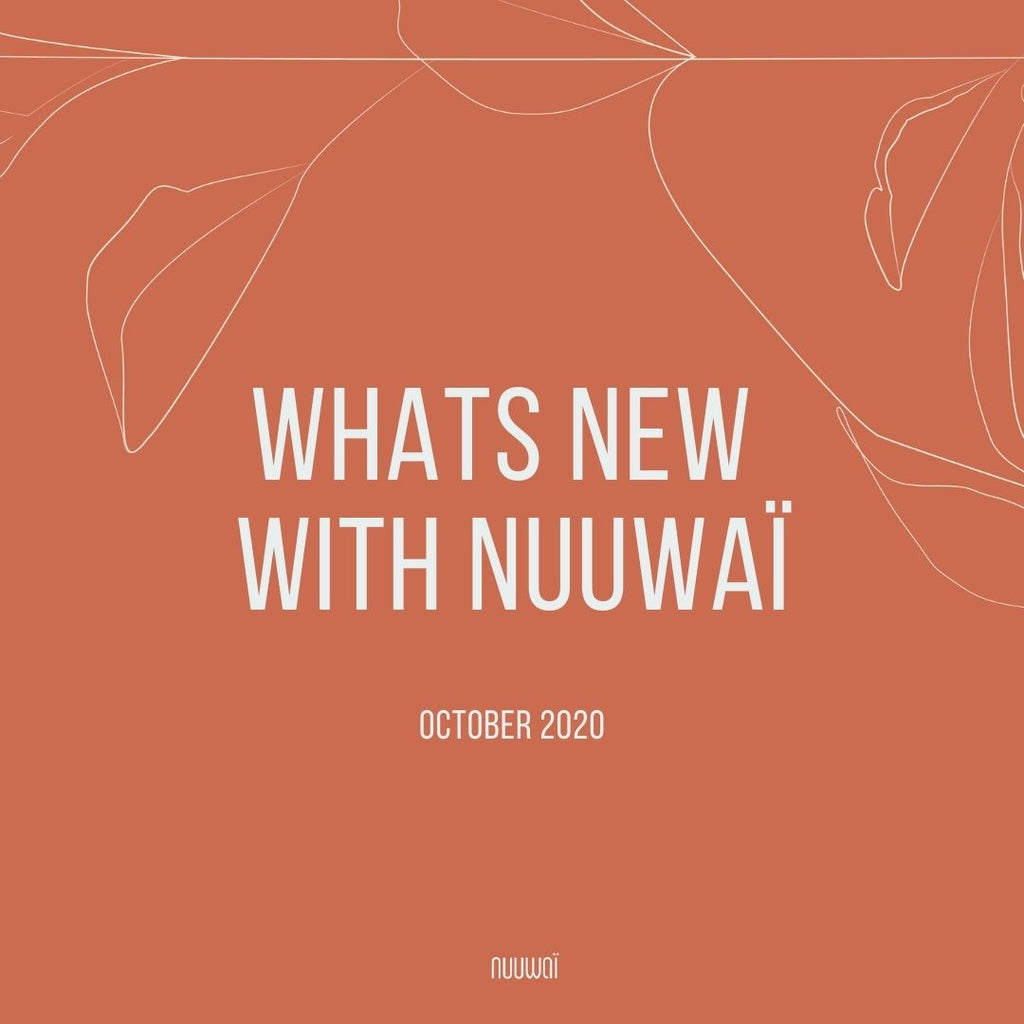 Whats New with nuuwaï: October 2020 (Wallpaper Inside!)