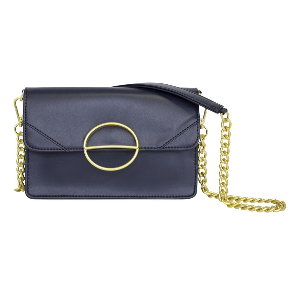 nuuwaï midnight blue nuuwaï - Vegan Clutch Bag - MILA