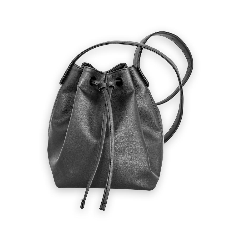 nuuwaï night black nuuwaï - Vegan Bucket Bag - KARI