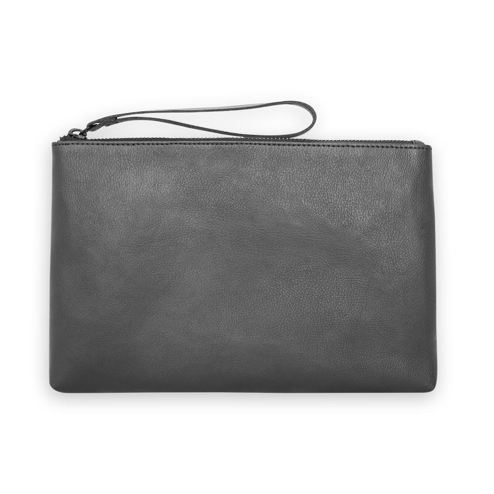 nuuwaï night black nuuwaï - Vegan Clutch - TELIA