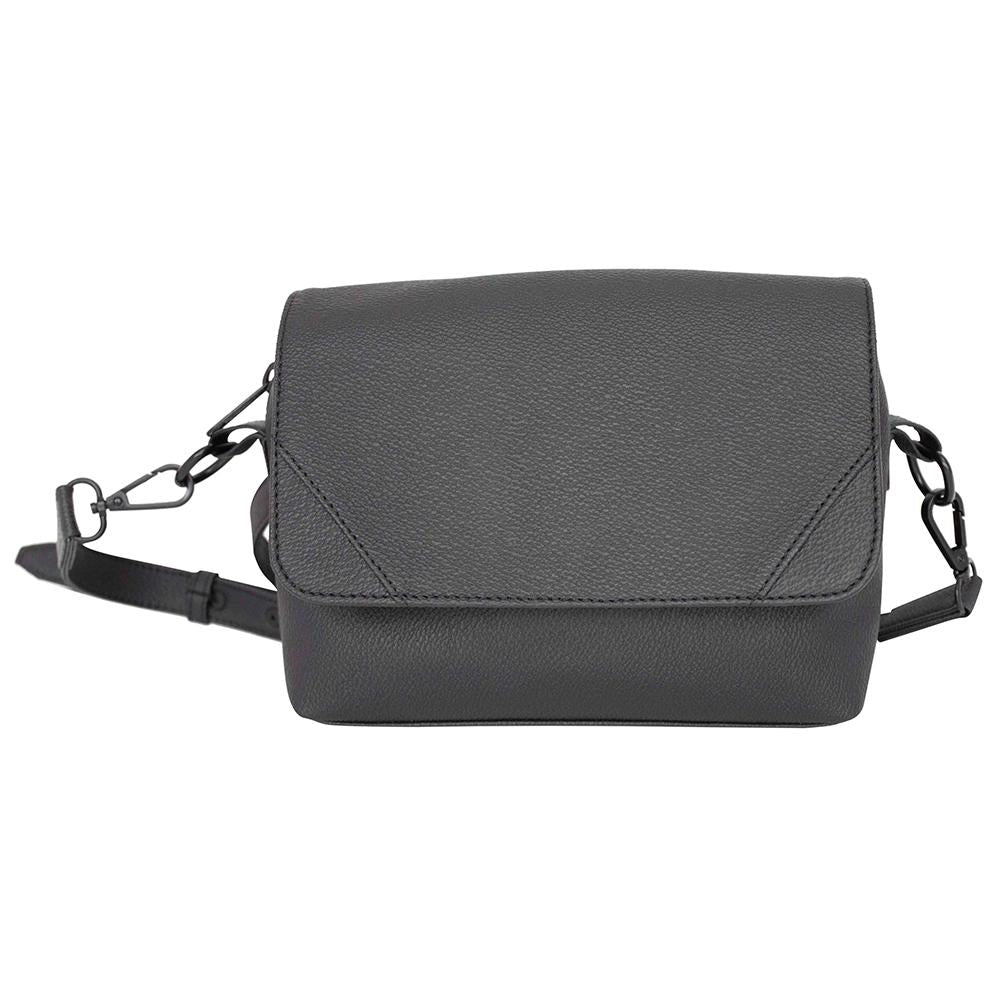 nuuwaï night black nuuwaï - Vegan Crossbody Bag - ELLI