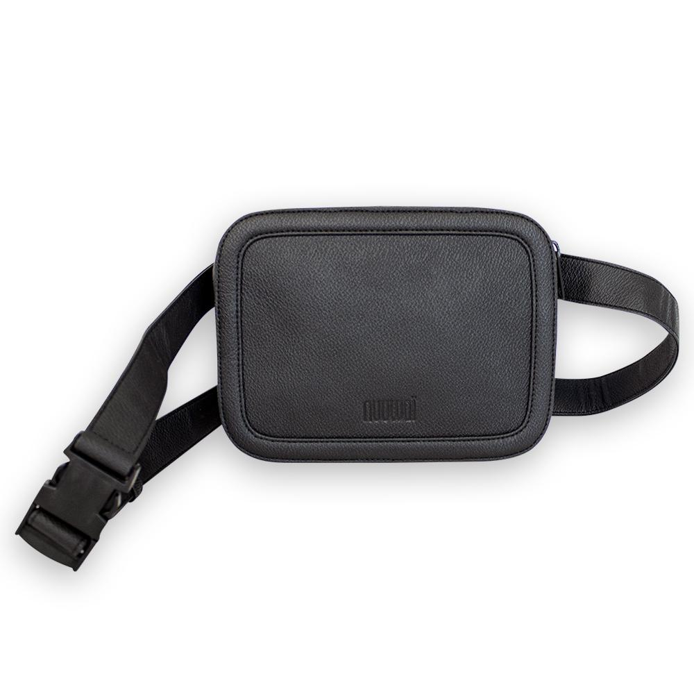 nuuwaï night black nuuwaï - Vegan Hip Bag - JORID