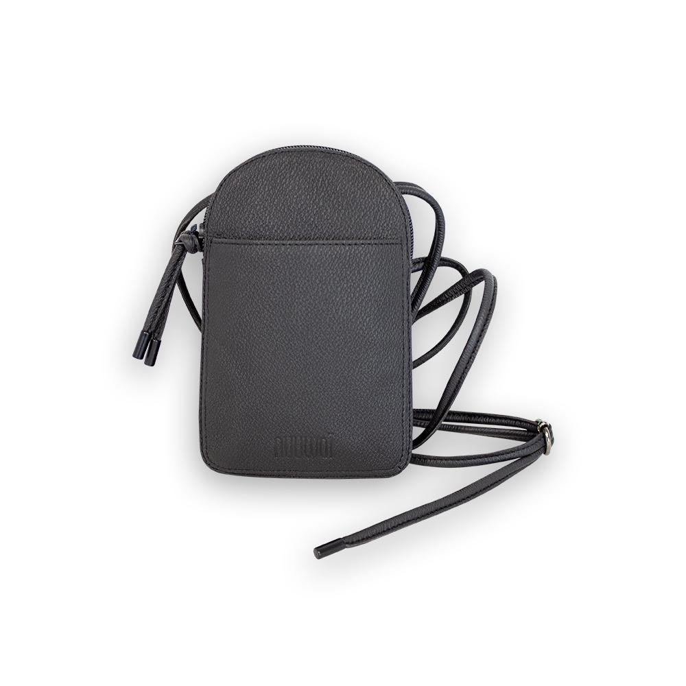 nuuwaï night black nuuwaï - Vegan Neck Bag - KINE