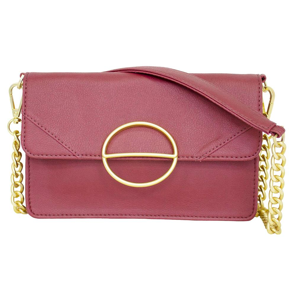 nuuwaï red berry nuuwaï - Vegan Clutch Bag - MILA