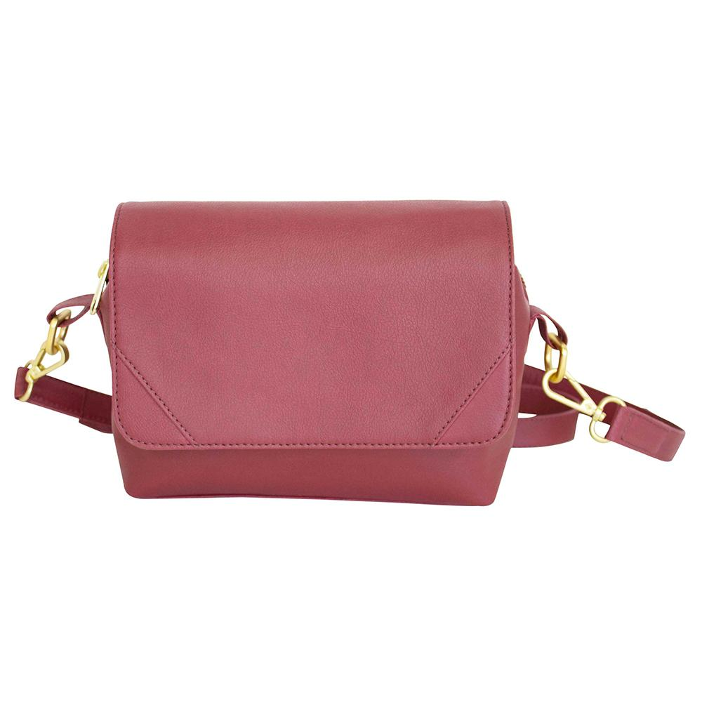 nuuwaï red berry nuuwaï - Vegan Crossbody Bag - ELLI