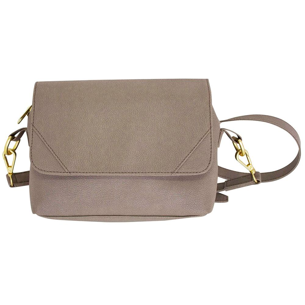 nuuwaï soft taupe nuuwaï - Vegan Crossbody Bag - ELLI