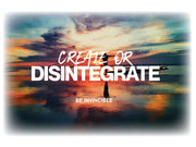 Create or Disintegrate T-Shirts Invincible Collection