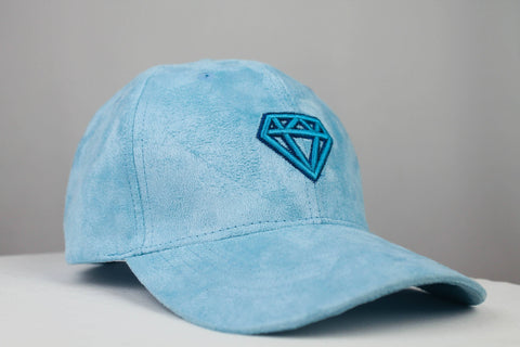 The Suede Cap Accessories Invincible Collection Sky Blue