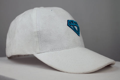The Suede Cap Accessories Invincible Collection White