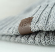 The Woven Beanie Accessories Invincible Collection Grey