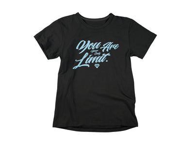 You Are Your Only Limit T-Shirts Invincible Collection X-Small Black