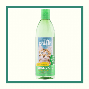 Tropiclean Fresh Breath - Aditivo de agua para gatos 237 ml (8 oz)