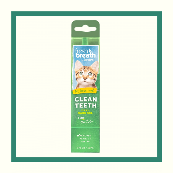 Tropiclean Fresh Breath - Gel de dientes para gatos 59 ml (2 oz)