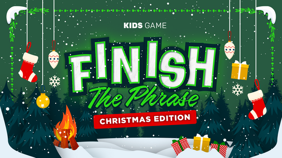 Finish the Phrase [Christmas Edition] Crowd Breaker Game