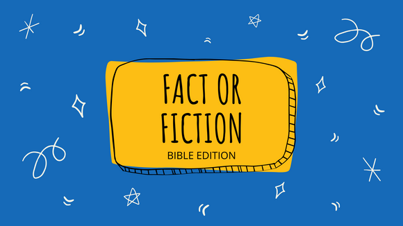Fact or Fiction? [Bible Edition] On Screen Game
