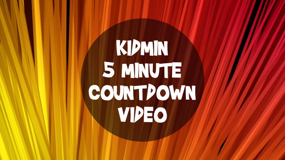 Kidmin 5 Minute Countdown Video [Version 3]