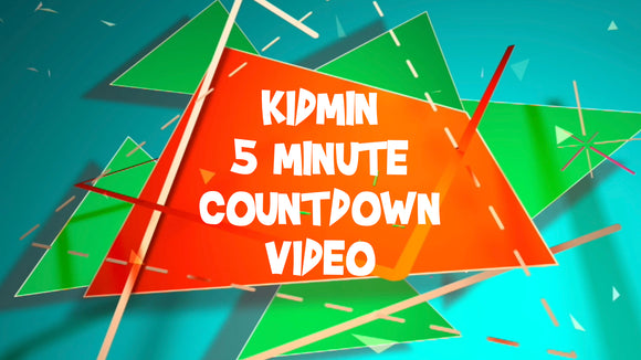 Kidmin 5 Minute Countdown Video [Version 1]