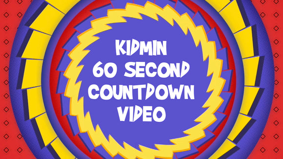 Kidmin 60 Second Countdown Video